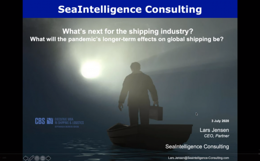 "Webinar - ""Where next for global shipping?"""