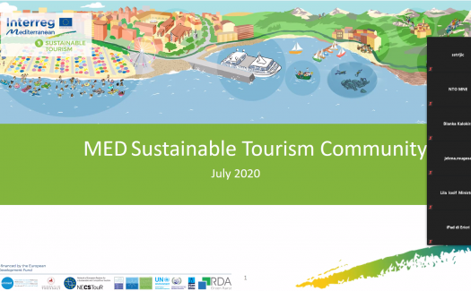 KIP participates in MED Sustainable Tourism Community meeting